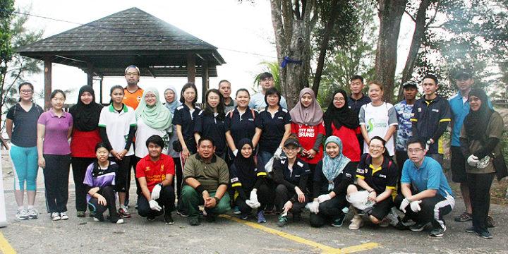 SCB, Green Brunei tanam 100 anak pokok