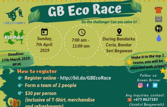GB Eco Race now open for registrations!