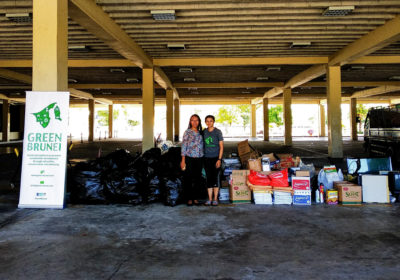 Recycling Drive Collects Over 400kg of Recyclables