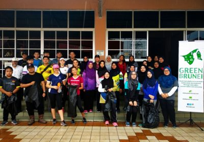 Kampung Sungai Kebun Clean-up Collects Over 70 bags of Waste