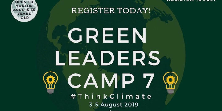 Green Leaders Camp 7 Open for Registrations