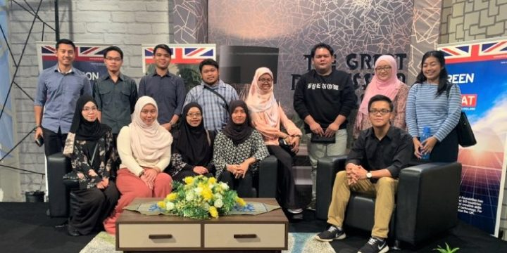 Green Brunei attended Finals of The Great Discussion